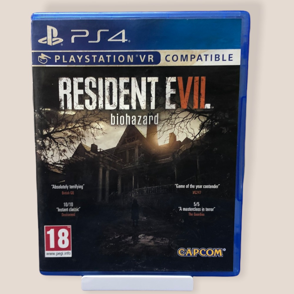 Product photo for PS4 Game Resident Evil 7: Biohazard