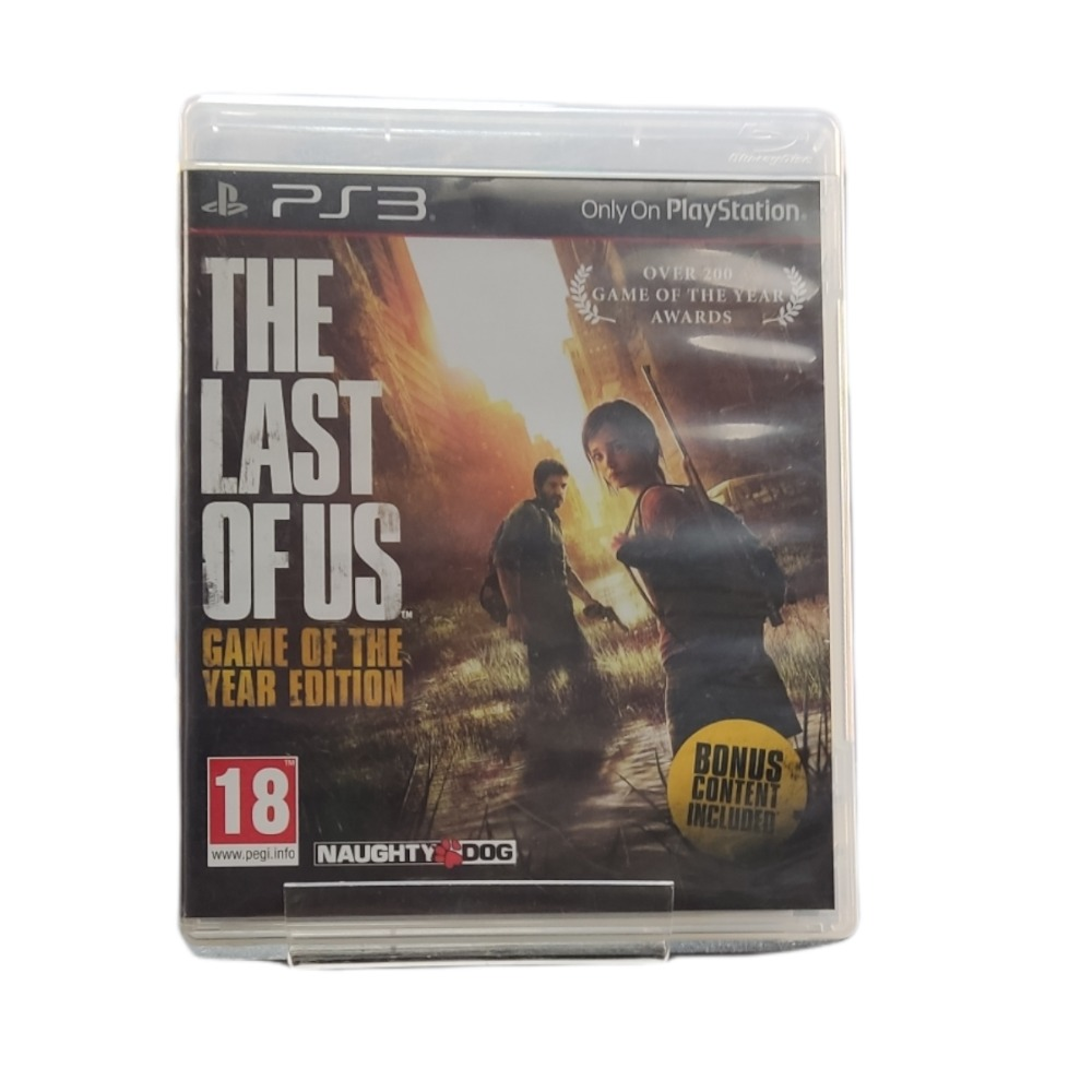 Product photo for Playstation 3 Game Last of Us