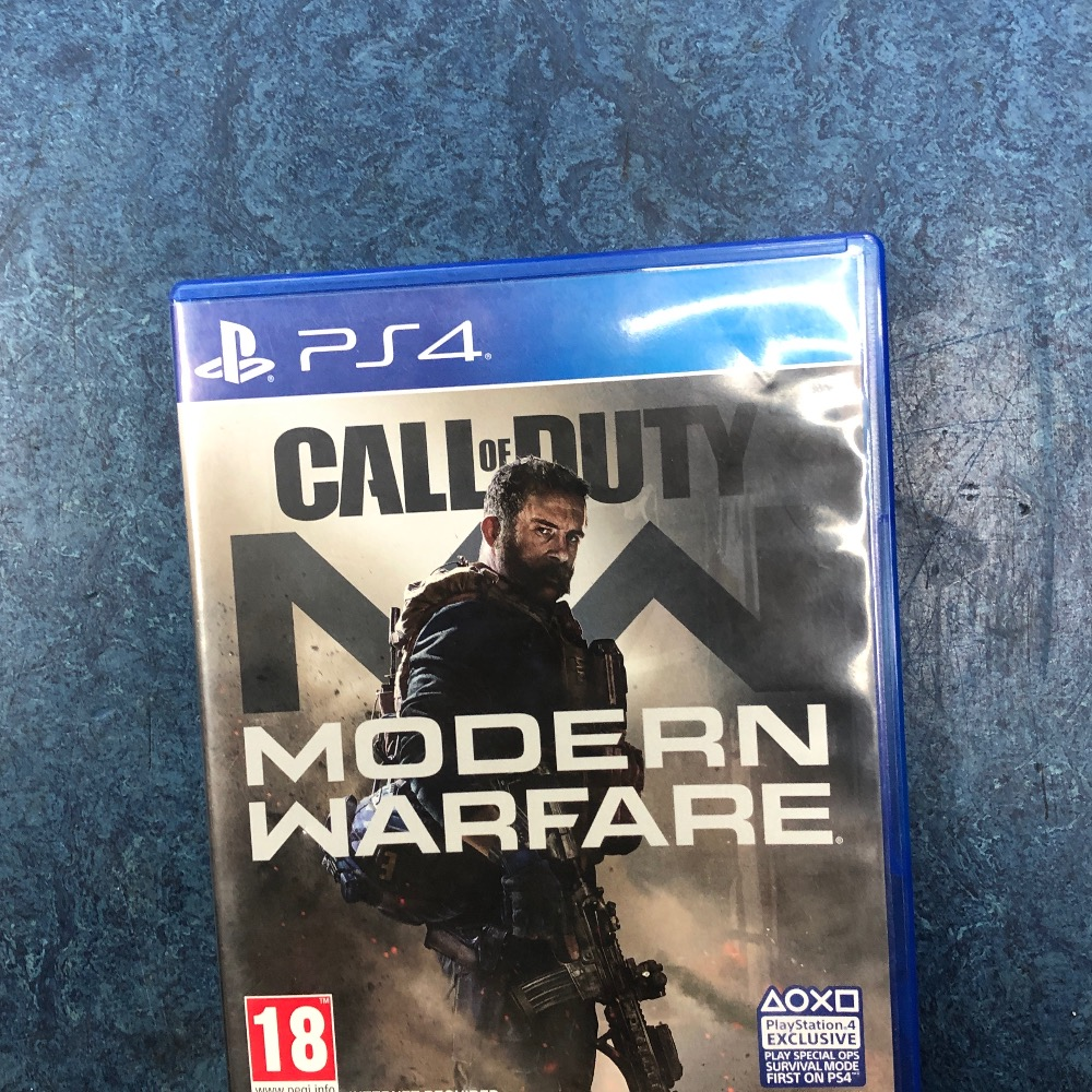 Product photo for Sony call of duty modern warfare PS4 game