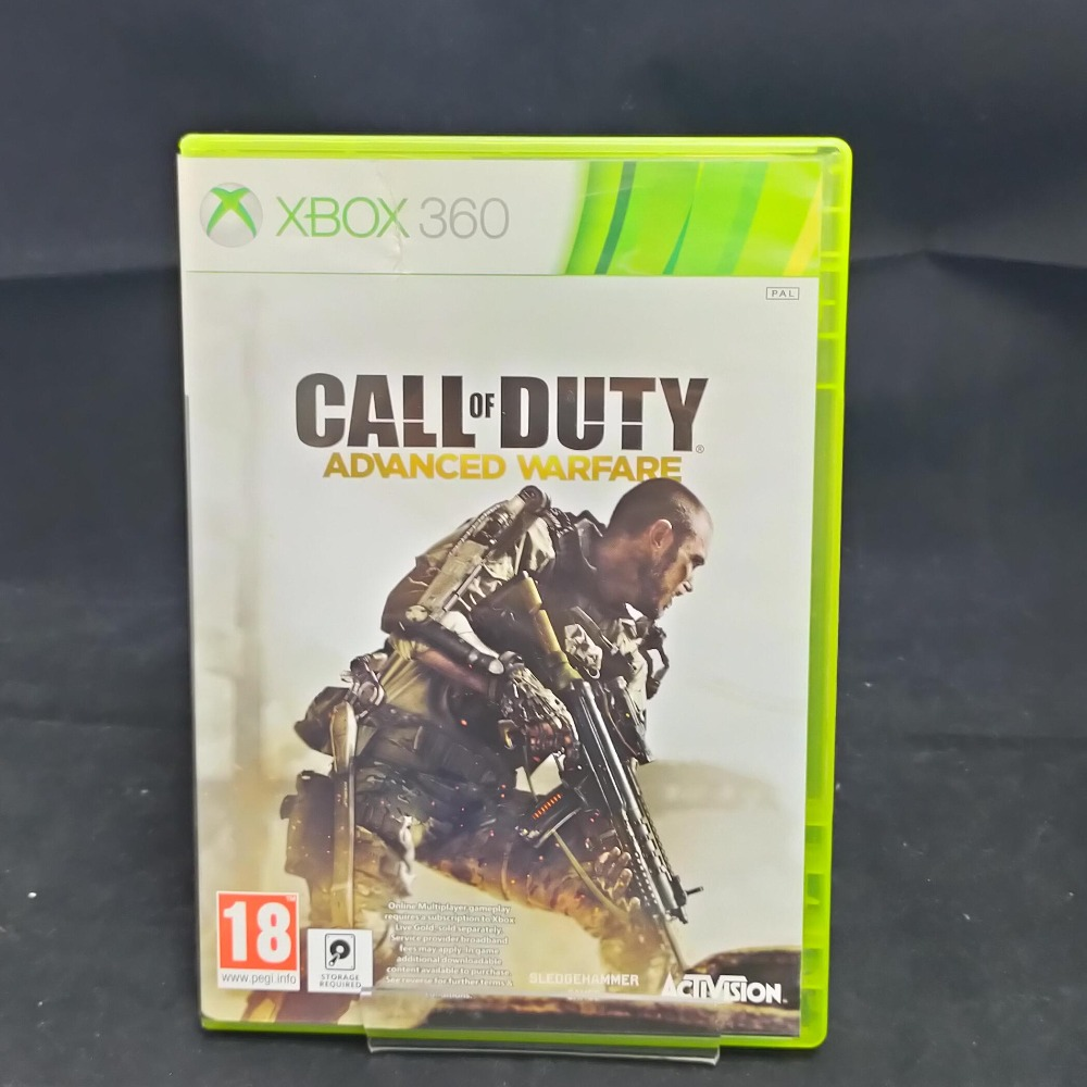 Product photo for Xbox 360 Game call of duty advanced warfare