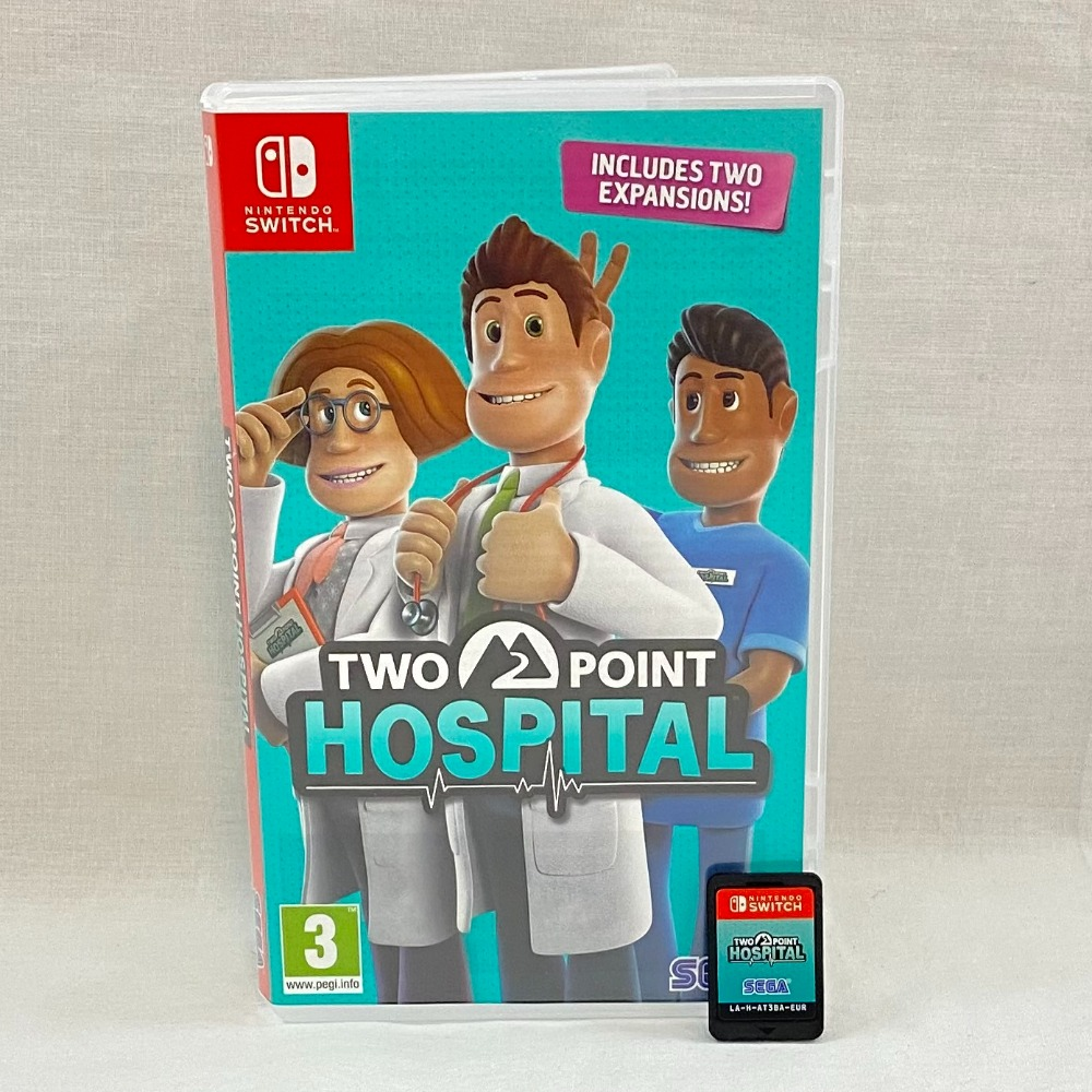 Product photo for Two Point Hospital (Switch)