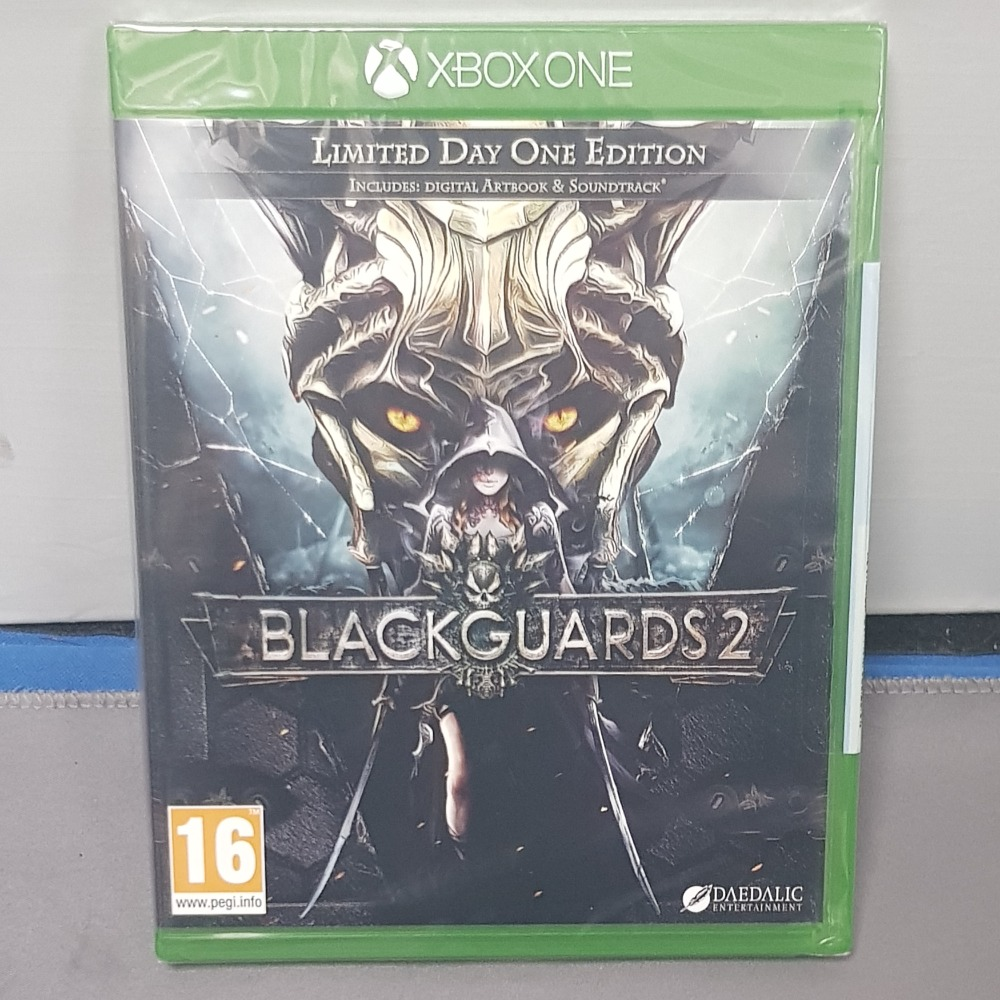 Product photo for BlackGuards 2 Xbox One
