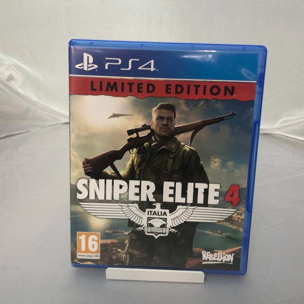 Product photo for PS4 Game Sniper Elite 4
