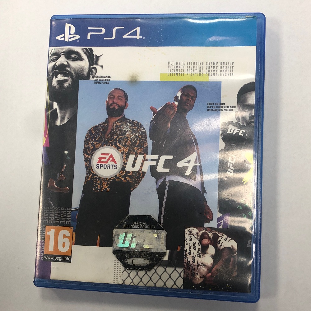 Product photo for Sony UFC 4 ps4 game