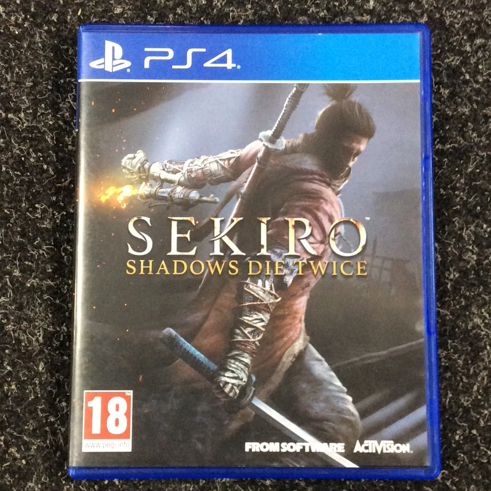 Product photo for Sony PlayStation 4 Ps4 game sekiro