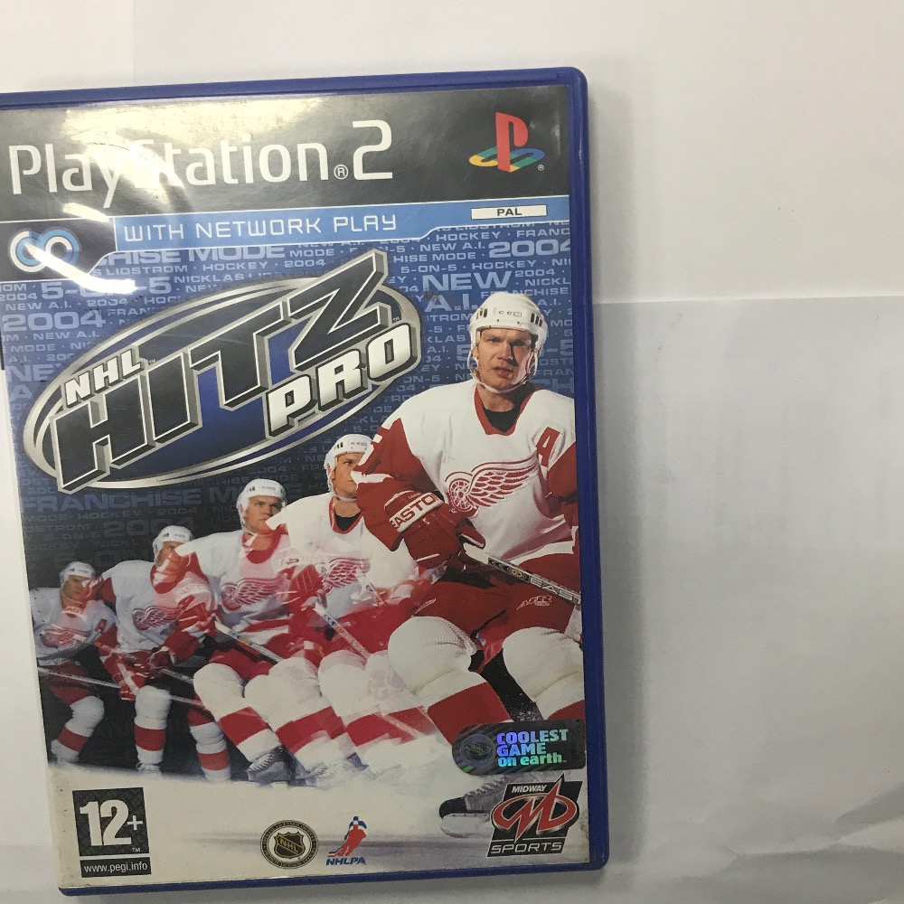Product photo for Sony NHL Hintz pro PS2