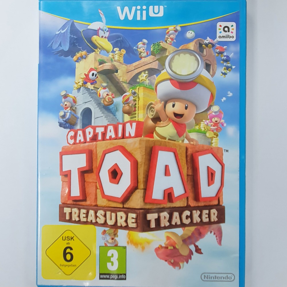 Product photo for Captain Toad: Treasure Tracker