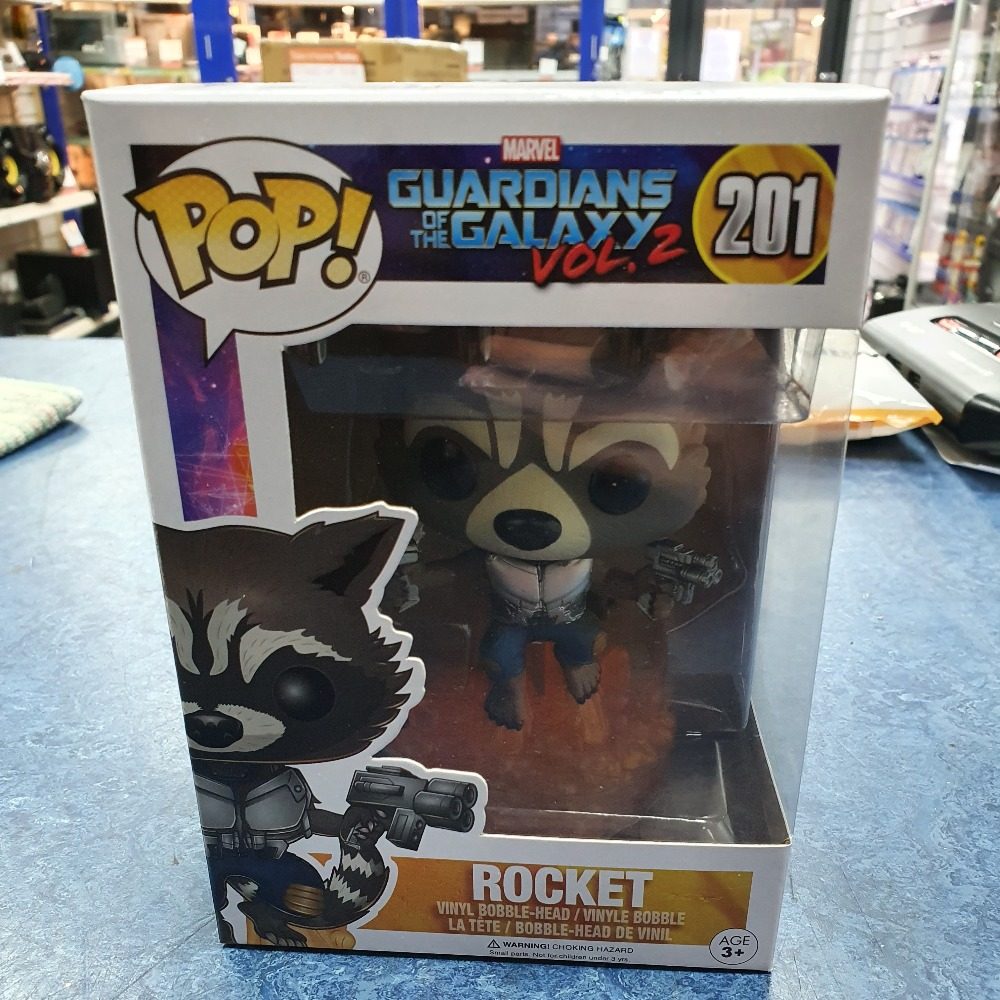 Product photo for Funko Pop rocket #201
