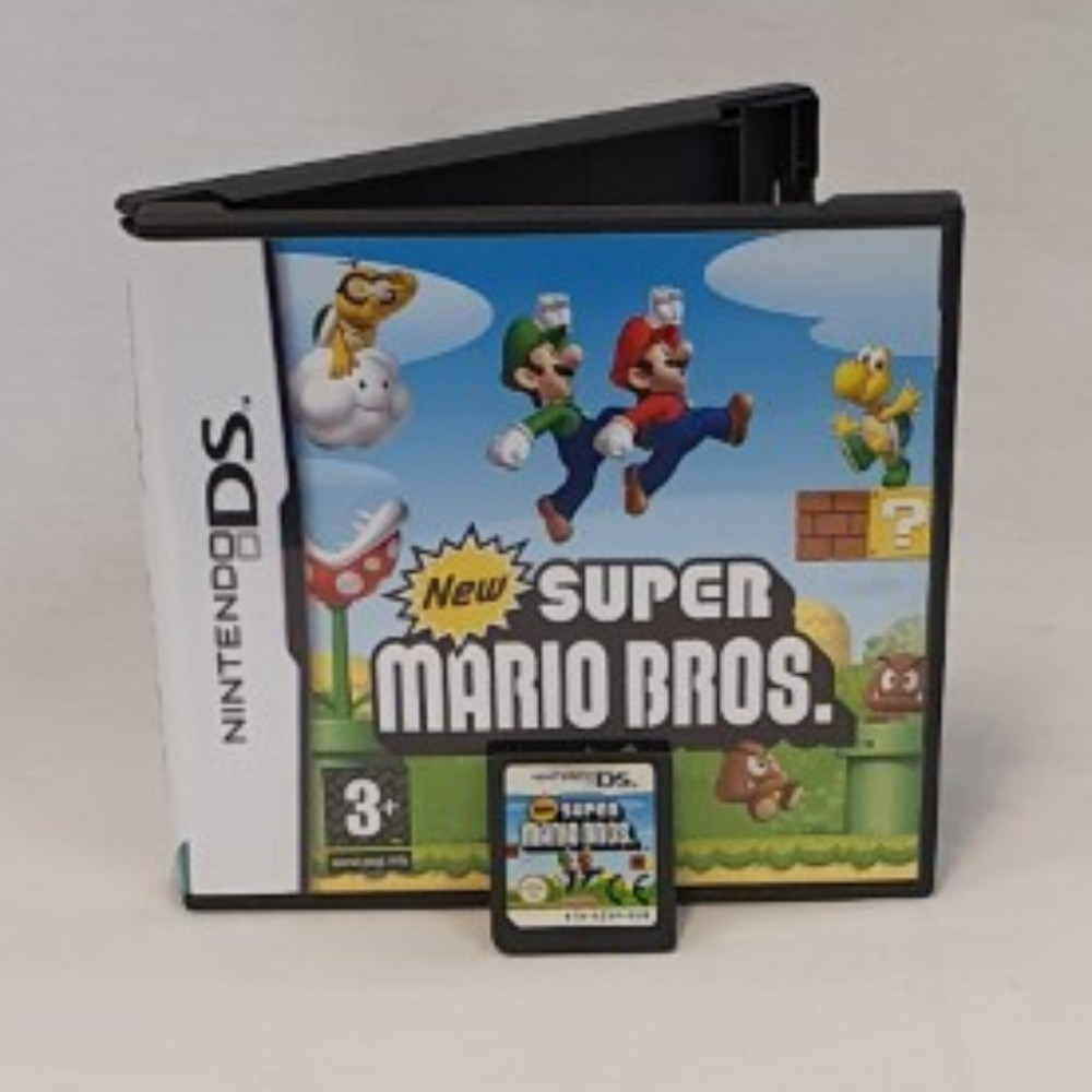 Product photo for New Super Mario Bros (DS)