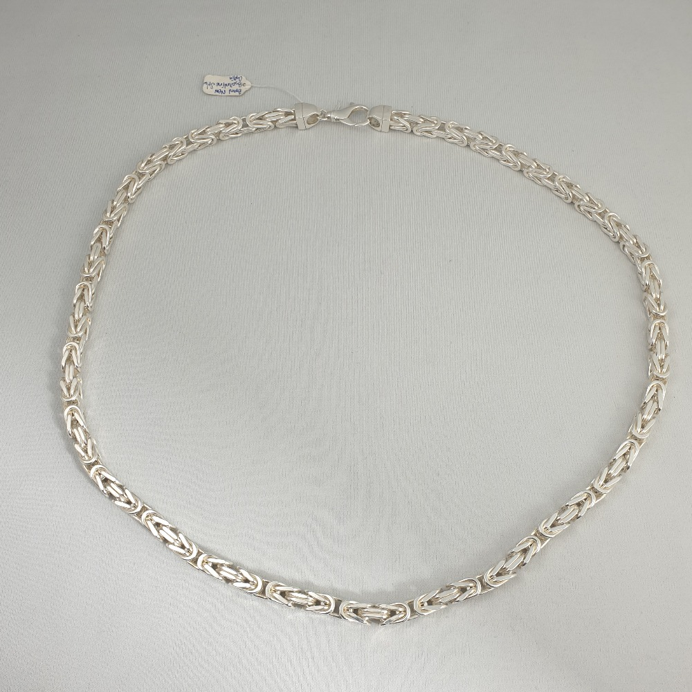 Product photo for Brand New Byzantine silver chain 294.80g 31