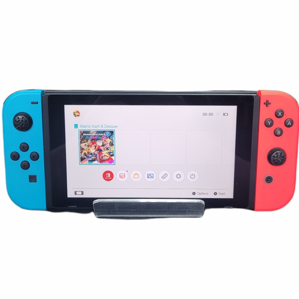 Product photo for Nintendo Switch with MarioKart Deluxe 8