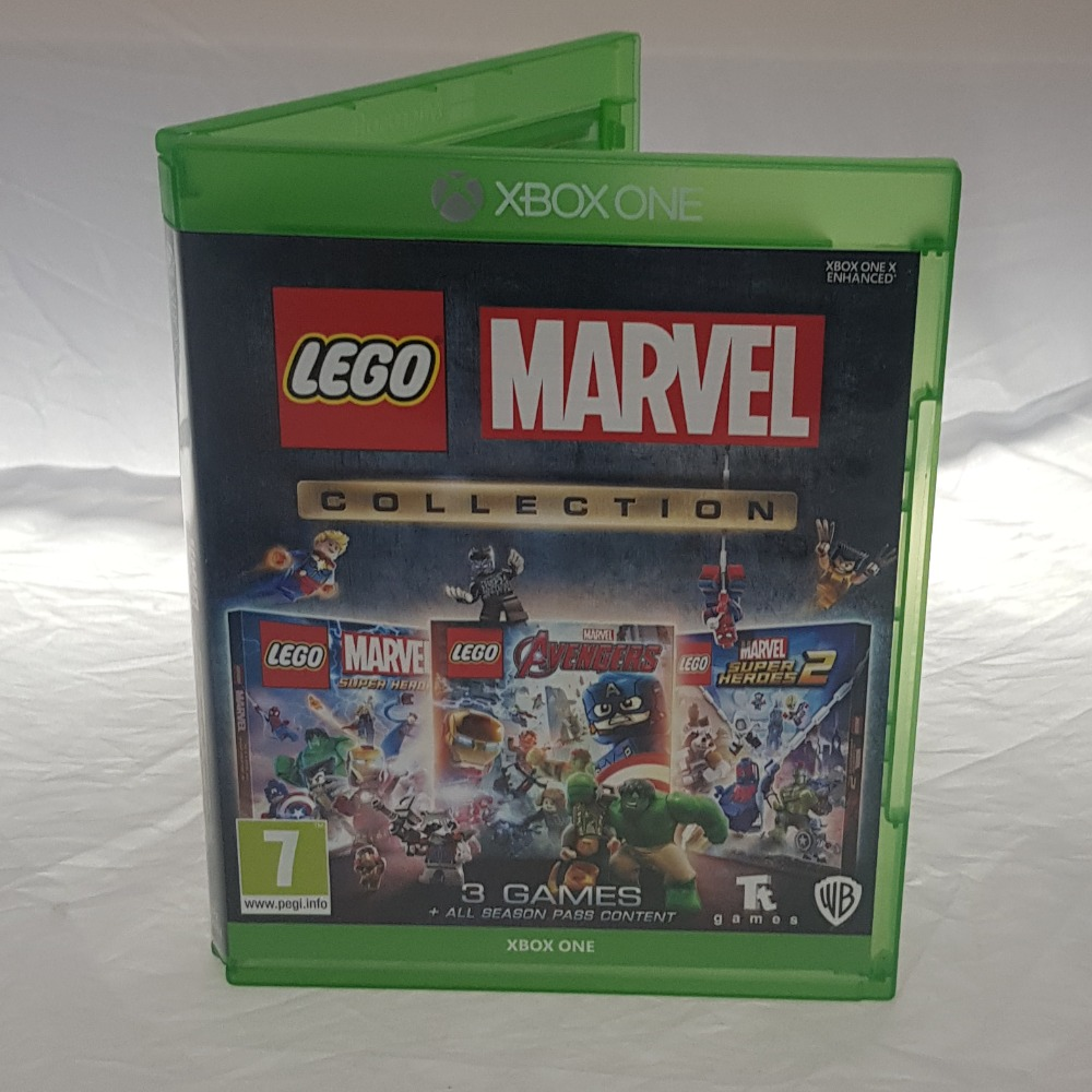 Product photo for LEGO Marvel Collection (Xbox One)