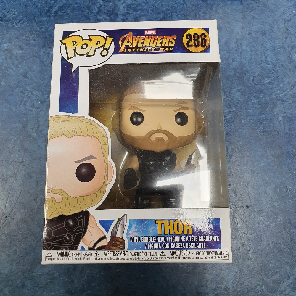 Product photo for Funko Pop thor avengers #286