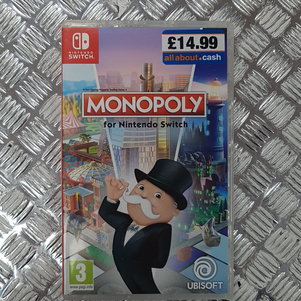 Product photo for Monopoly (Nintendo Switch)