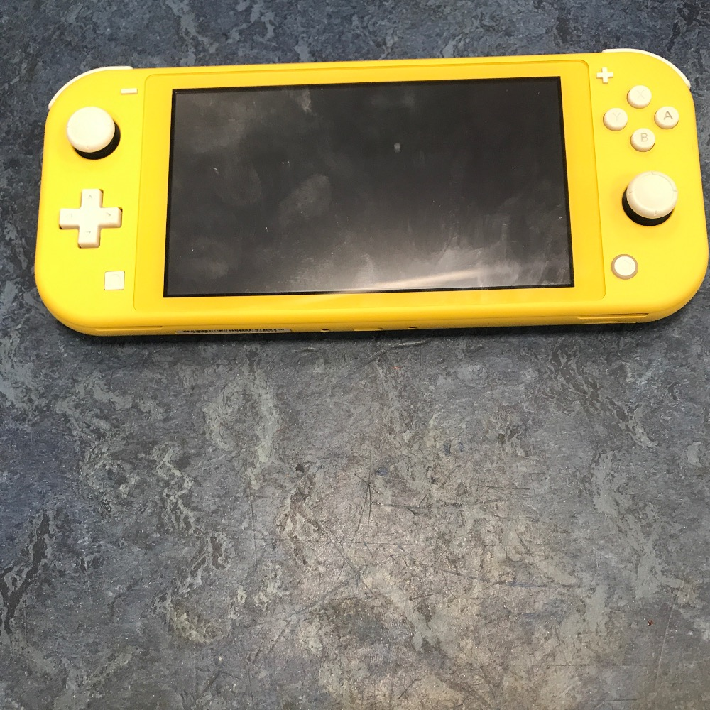 Product photo for Switch lite yellow