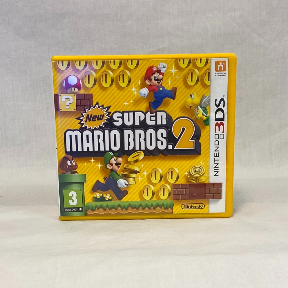 Product photo for New Super Mario Bros 2 (3DS)