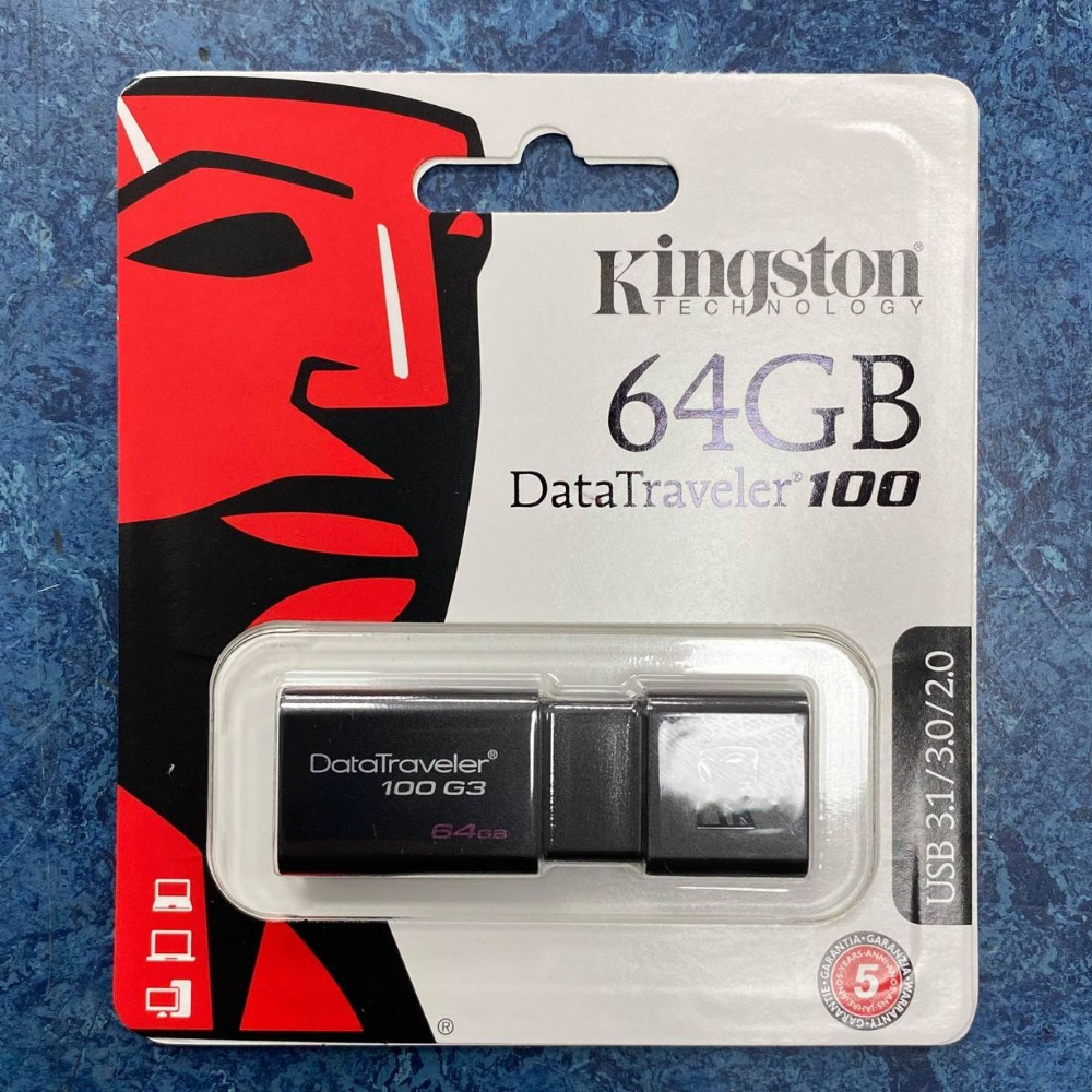 Product photo for Kingston Technology 64GB USB